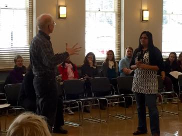Practicing leadership under confrontation