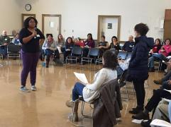 Rehearsing empathy while facilitating a challenging conversation